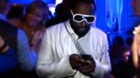 Spotted! Will.i.am at 2 a.m. on Sunday