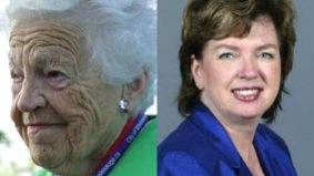 Hazel McCallion dances on Carolyn Parrish's political grave