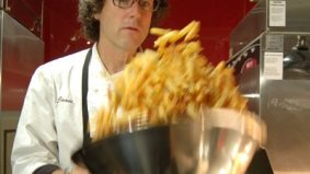 Jamie Kennedy brings his signature fries to the Air Canada Centre