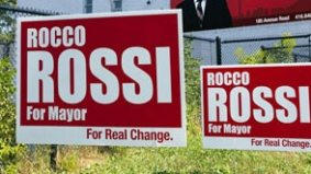 Plague of election signs takes over Toronto