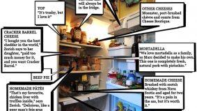 Inside the fridge of chef Marc Thuet and restaurateur Biana Zorich