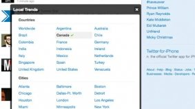 """Twitter gives Toronto its own """"trending topics"""" section, unironically puts city on same list as New York and London"""