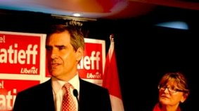 Ignatieff hints at spring election, going after Rob Ford voters. Wait, what?