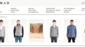 Nomad latest menswear store to get on the e-tail bandwagon