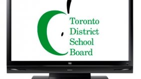 TV screens coming to Toronto schools, students may briefly look up from their iPhones and notice