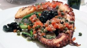 Weekly Lunch Pick: grilled octopus that almost convinced us it isn't January