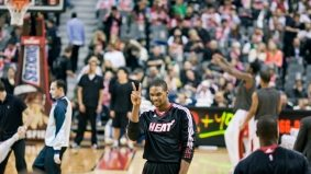 Bosh brought out the boo-birds, but, really, it wasn't so bad