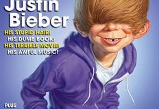 Mad magazine puts Justin Bieber on its cover, reminds everyone it still exists