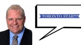 BREAKING NEWS! Doug Ford really doesn't like the Toronto Star