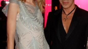 "Canadian model Jessica Stam walks in Dior show in support of John Galliano, a ""friend in a dark place"""