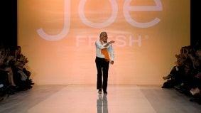 No celebrity models, just celebrity journalists for Joe Fresh at LG Fashion Week