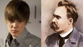 """A nihilist (and fake) Justin Bieber declares that people's love or hate of him """"means nothing in the grand scheme of geological time"""""""