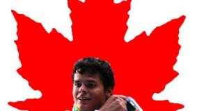 Even when he's injured, Canada's Milos Raonic is the man