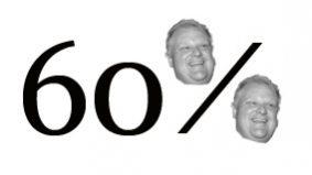 First poll since the election gives Rob Ford a 60 per cent approval rating—but people love his policies even more