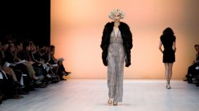 IZMA's decadence deflects any notion of cautious spending at LG Fashion Week