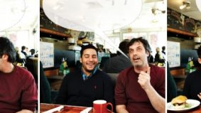 Men of action: Ennis Esmer and Kenny Hotz talk about the things they'll do for a buck