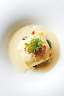 Scaramouche's lobster ravioli