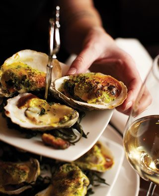 Oysters from Frank's Kitchen
