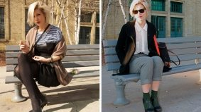 Spotted: a fashion week doppelganger