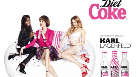 Diet Coke teams up with Coco Rocha to promote Lagerfeld lifestyle
