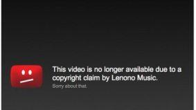 "Yoko Ono's publishing company pulls Stephen Harper's ""Imagine"" performance off YouTube"