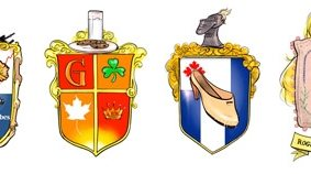 In honour of Kate Middleton's freshly pressed coat of arms, we design crests for Toronto's blue blood