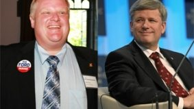 Rob Ford will shock exactly five people by endorsing Stephen Harper in Brampton tonight—but why?