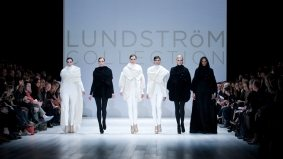 Ladies who lunch—and, apparently, rave—at Lundström Collection's fall/winter 2011 show