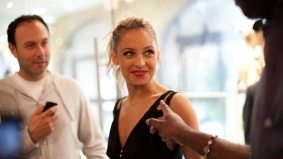 The Scene: Nicole Richie helps TNT launch their newly renovated Yorkville location