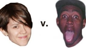 One half of Tegan and Sara takes aim at Odd Future's Tyler, the Creator