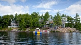 Cottage of the Week: $4 million for a Lake Muskoka island