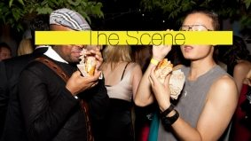 The Scene: Power Ball 13, a party where people drink a lot and eat meat in designer clothes