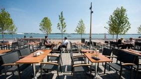 Introducing: Against the Grain, a new lakeside pub with a lakeside patio