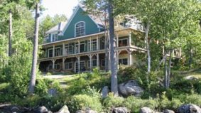 While the rest of the market sinks, million-dollar cottage sales are making a comeback