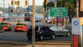 A chunk of the Gardiner Expressway drops off—but it's no big deal, right?