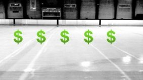 Apparently the Mastercard Centre for Hockey Excellence is a financial sinkhole