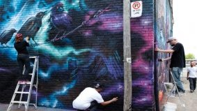 Reason to Love Toronto: Because Rob Ford's graffiti crackdown is inspiring works of art