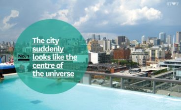 No. 1   The city suddenly looks like the centre of the universe