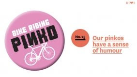 50 Reasons to Love Toronto: No. 25, Bike-riding pinkos have a sense of humour