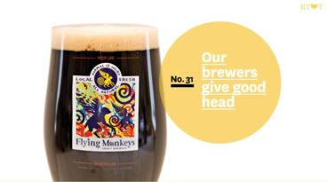 No.31, Our brewers give good head