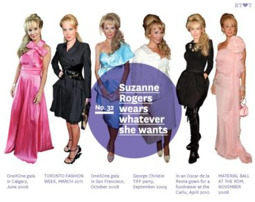 No.32, Suzanne Rogers wears whatever she wants
