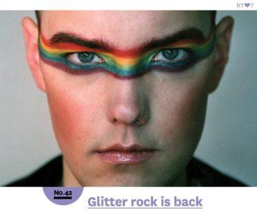 No.42 Glitter rock is back