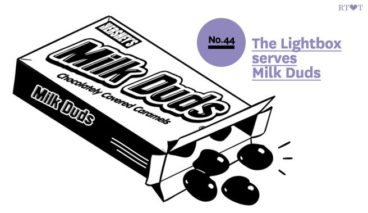 No. 44 The Lightbox serves Milk Duds