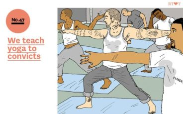 No.47 We teach yoga to convicts