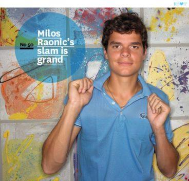 No.50 Milos Raonic's slam is grand