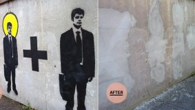 We called it! Mural artist to get a second shot at Dupont underpass