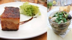 Weekly Lunch Pick: the rich, crispy pork belly at Trattoria Mercatto