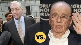 Rupert Murdoch momentarily snatches the crown as most despised media baron from Conrad Black