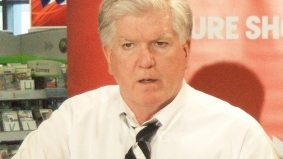 Toronto Maple Leafs GM Brian Burke returns to his youth movement