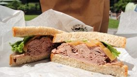 Weekly Lunch Pick: a classic roast beef sandwich in the Path